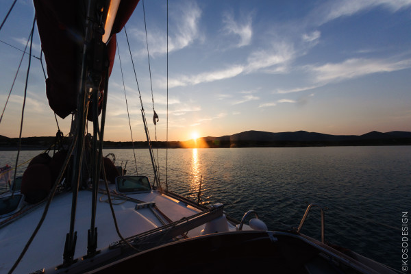 Summer in Sardinia, 2013. Visiting the land and sailing in the South Coast.